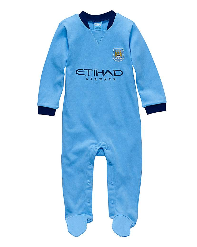 Man City Football Club Kit Sleepsuit