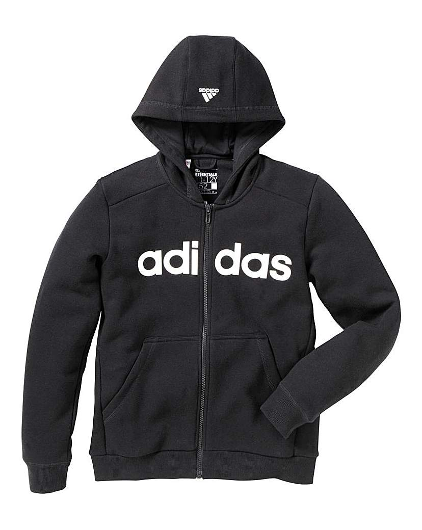 adidas Junior Boys Full Zip Hoodie