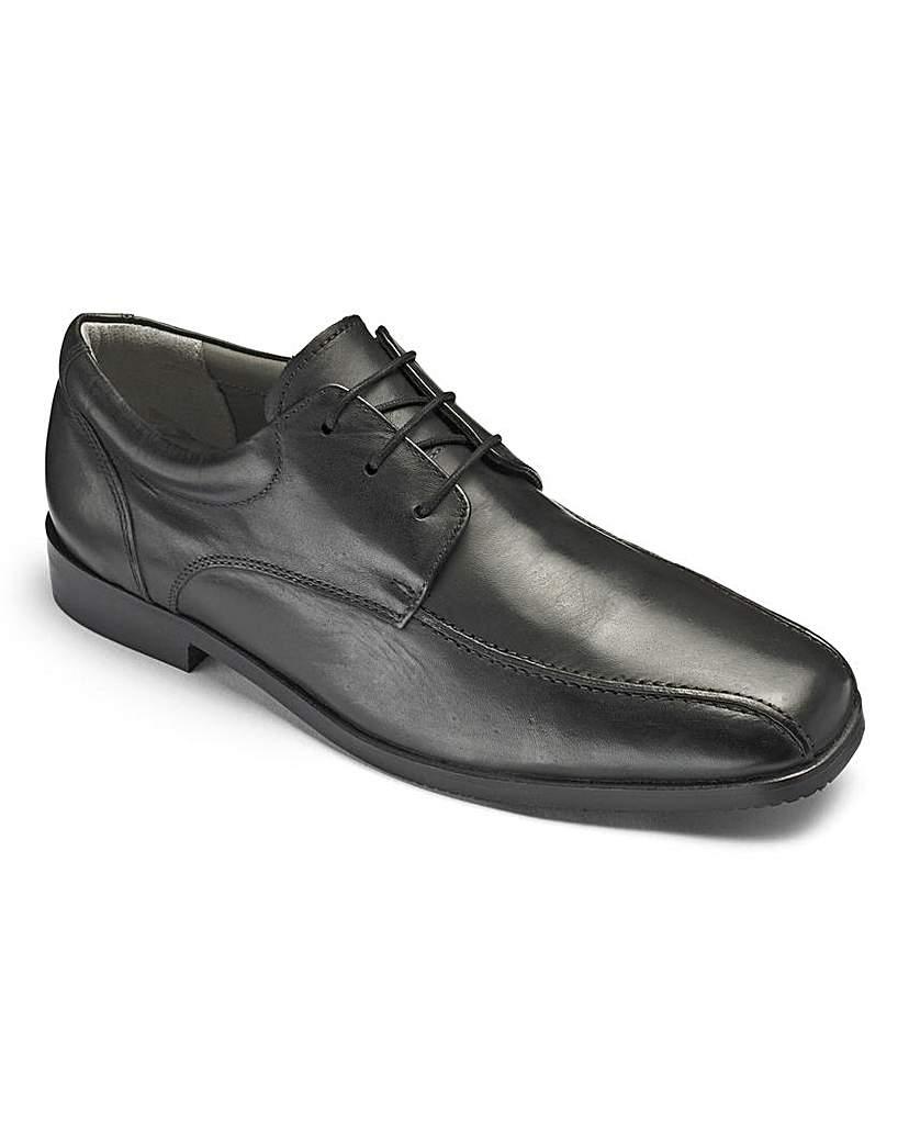 Image of Boys 'Hugo' Black Shoes Standard Fit