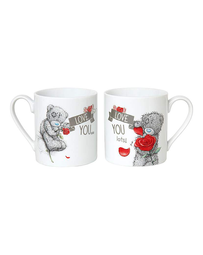Image of Me To You Valentine's Double Mug Set