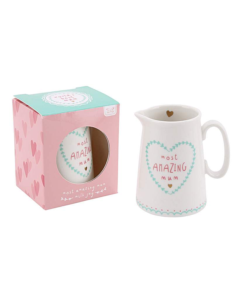 Image of Most Amazing Mum Milk Jug