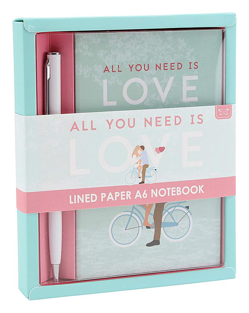 All You Need is Love Notebook and Pen