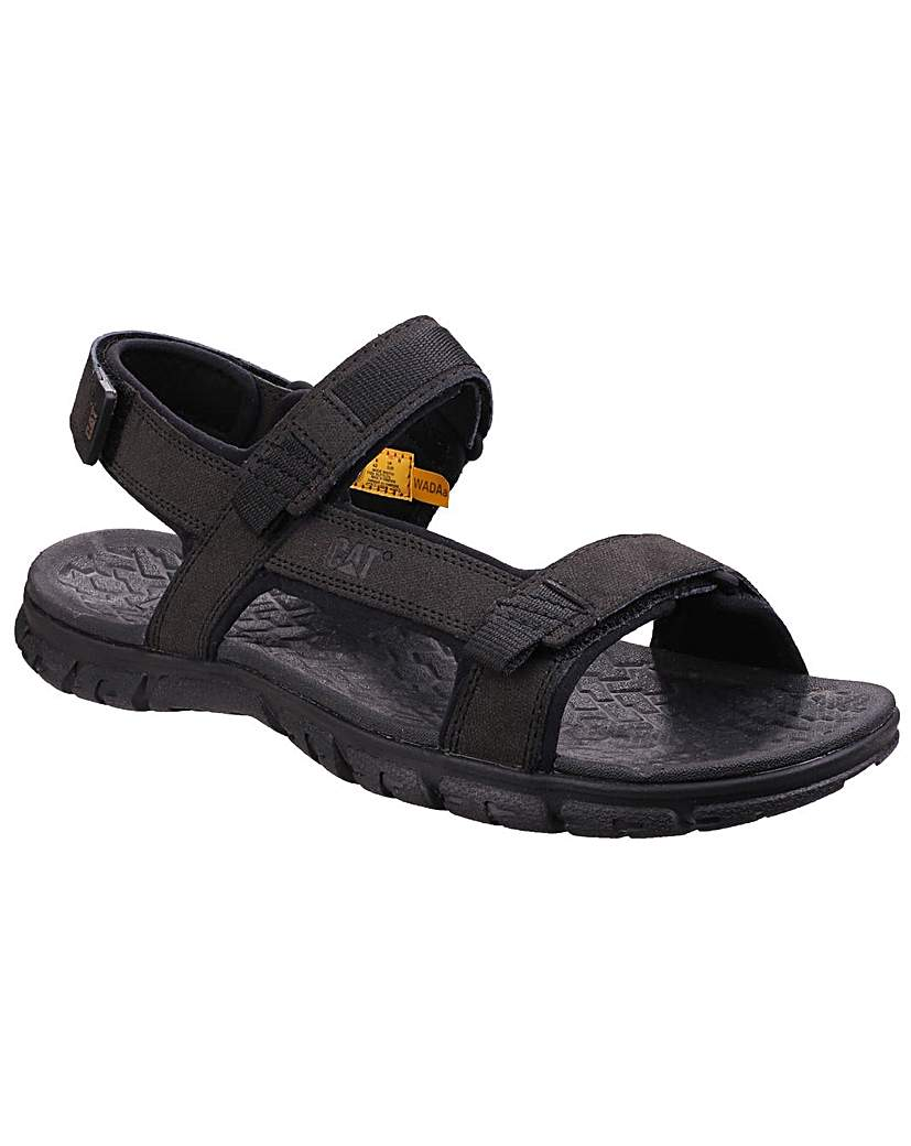Image of Caterpillar Mens Suede Upper Sandals