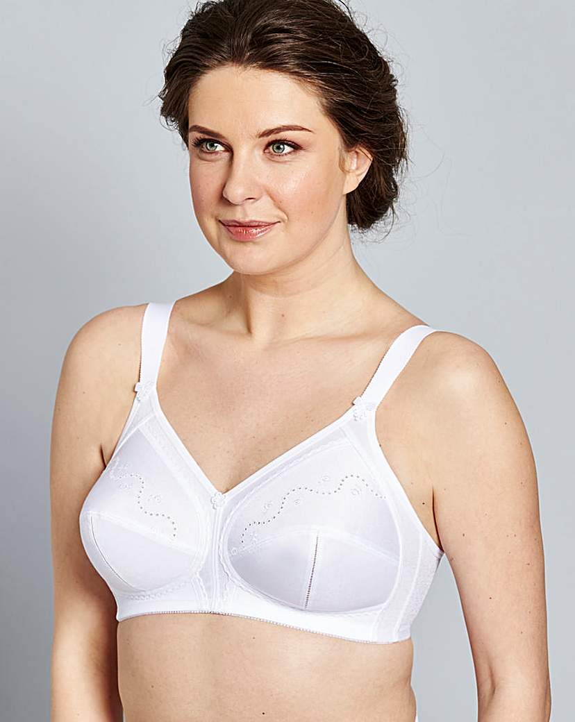 Triumph Doreen Cotton Non Wired Bra.