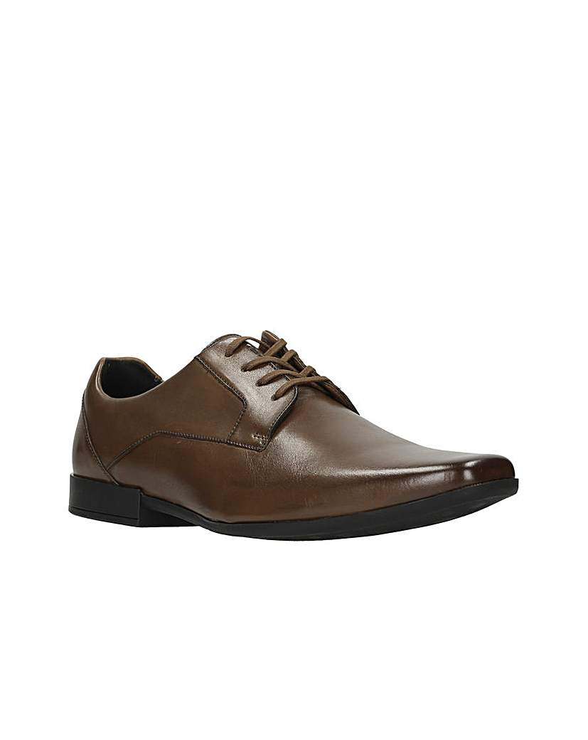 Clarks Glement Lace Shoes G  fitting.
