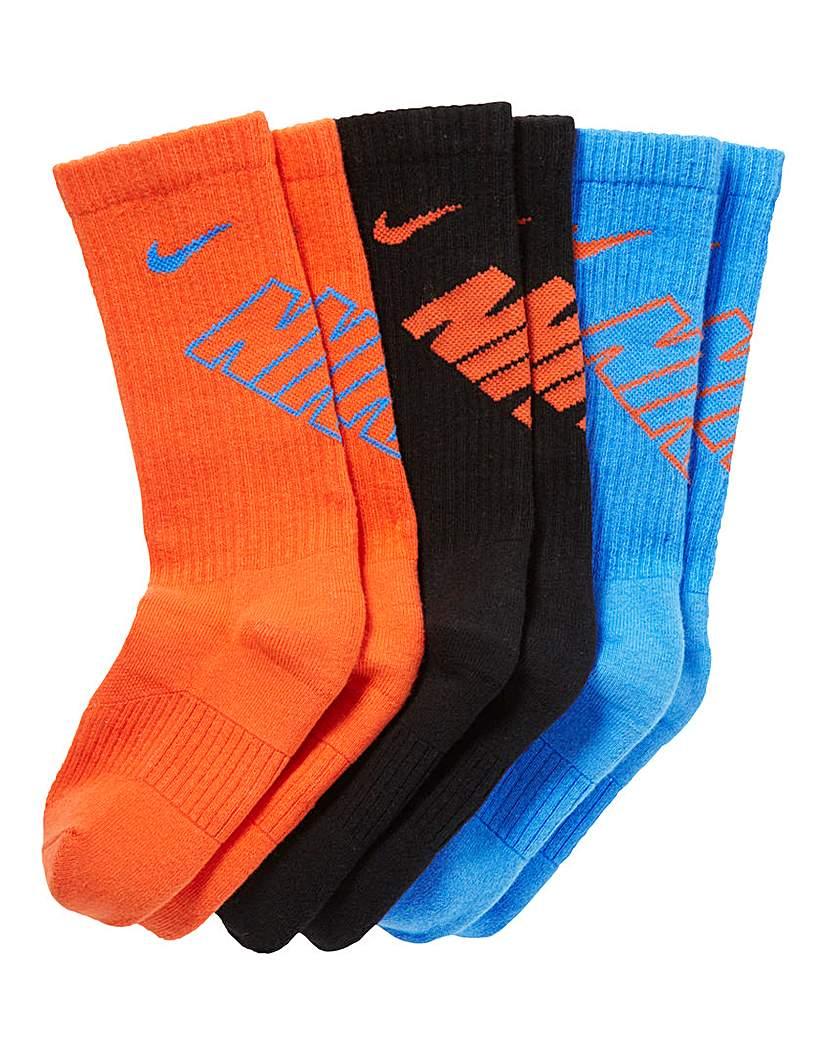 Nike Pack of 3 Boys Socks
