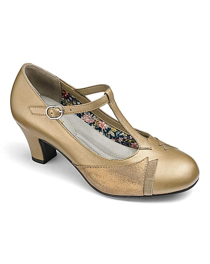 Hotter Georgette Leather Shoes E Fit
