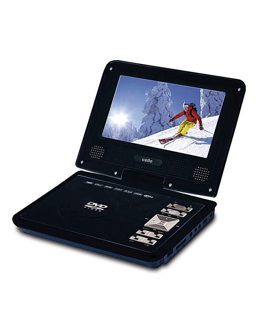 Cello 7in Portable DVD Player