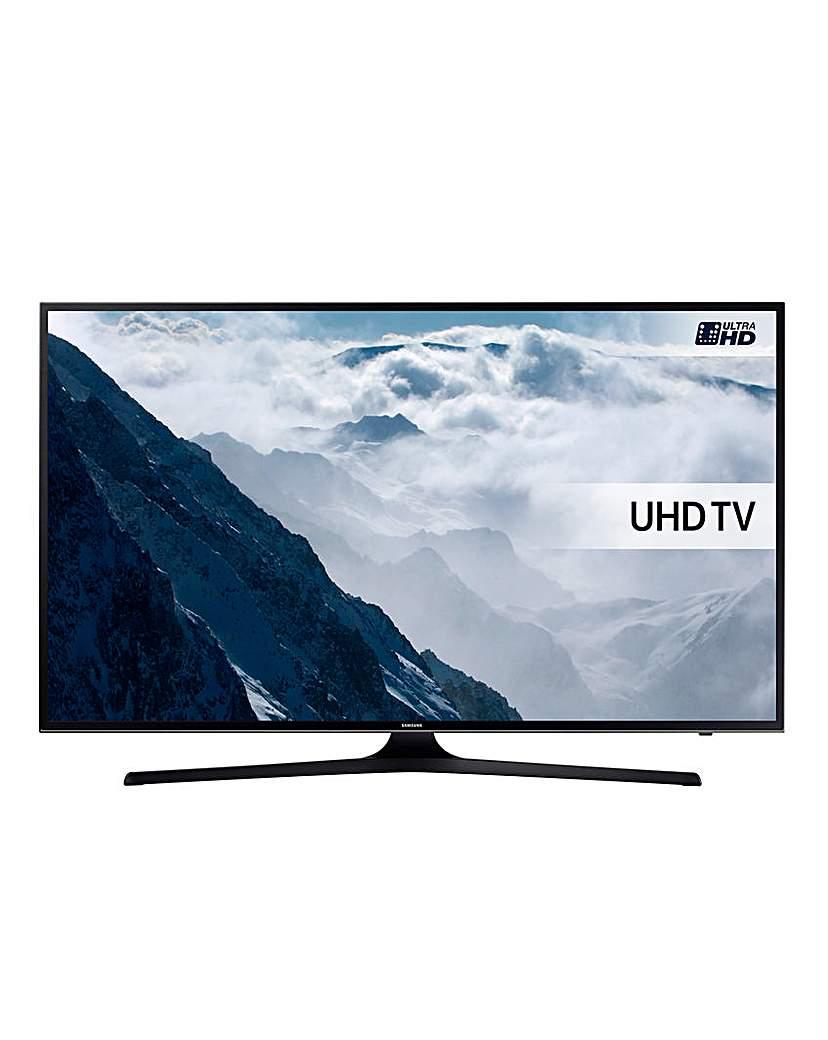 Samsung 50in 4K UHD Smart TV & Install