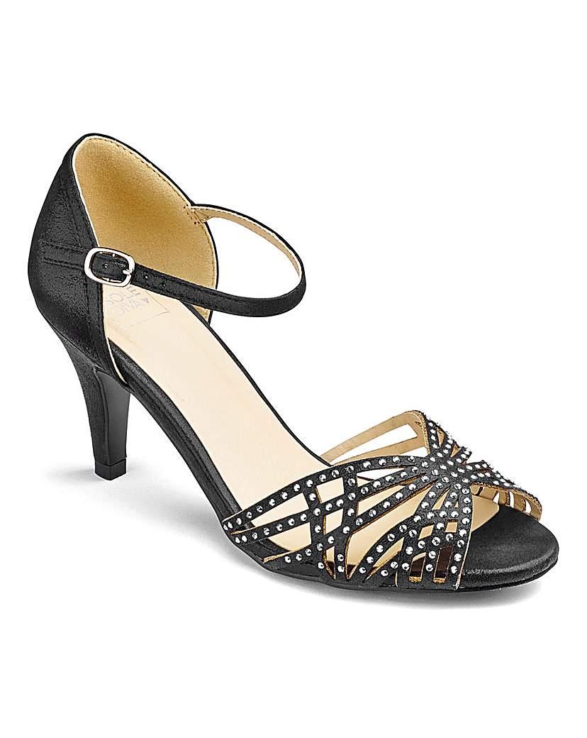 Sole Diva Diamante Sandals E Fit