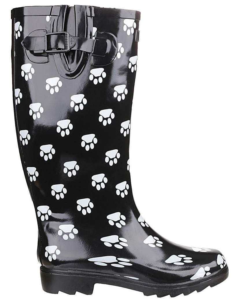 Image of Cotswold Collection Dog Paw Welly