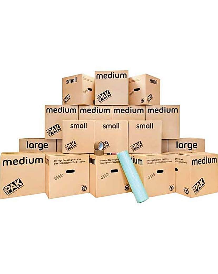 StorePAK Moving House Pack - 20 Boxes