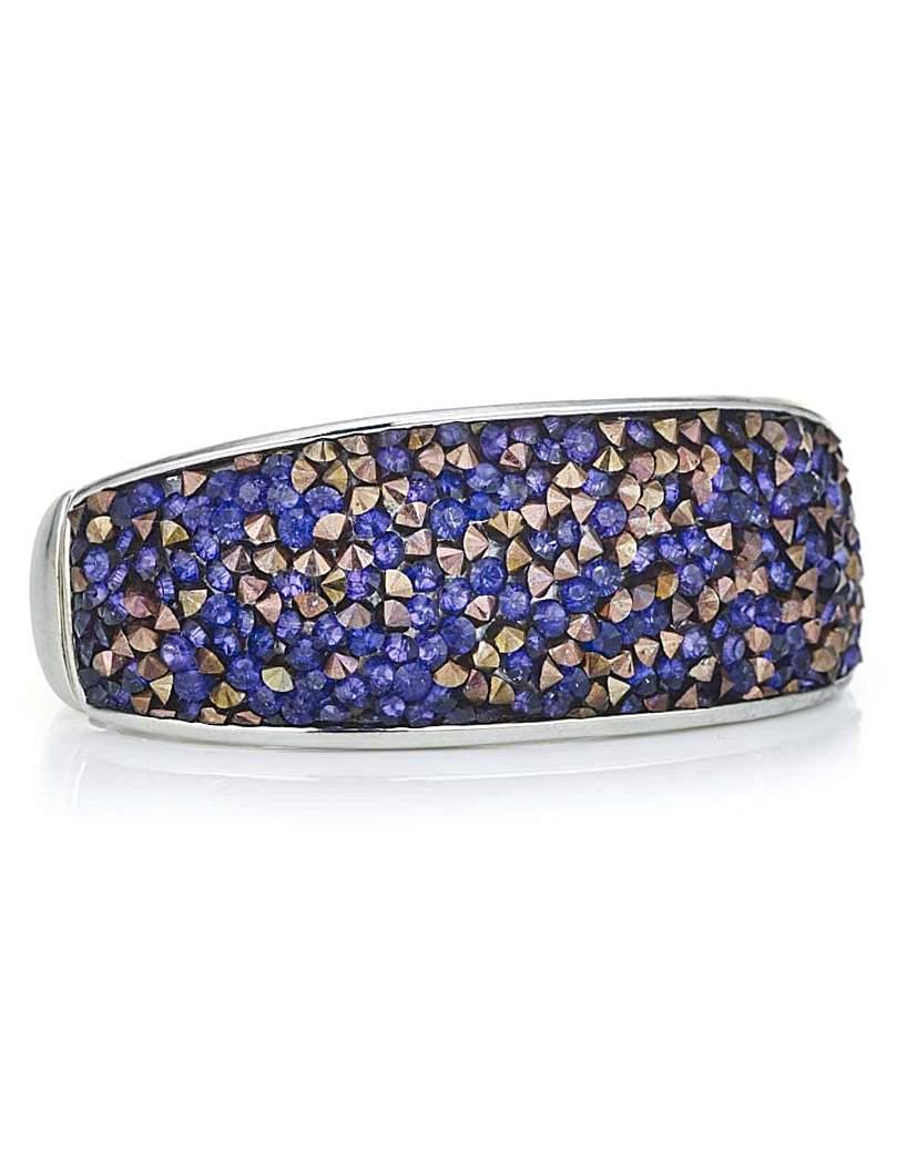 Mood Crystal cluster stone bracelet