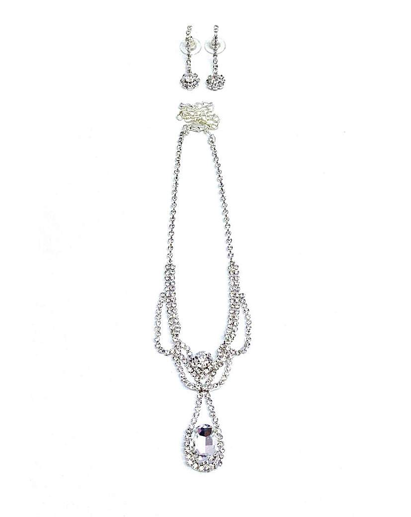 Crystal Jewellery Set