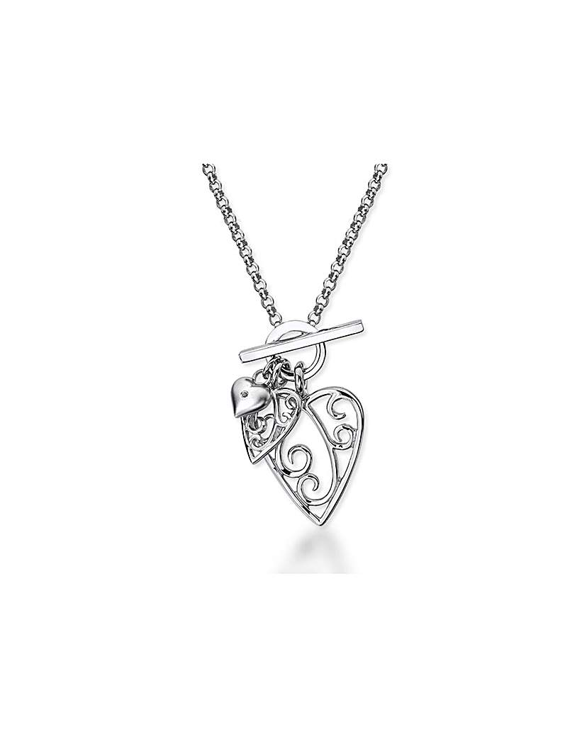 Lily&Lotty Aimee Sterling Silver Heart