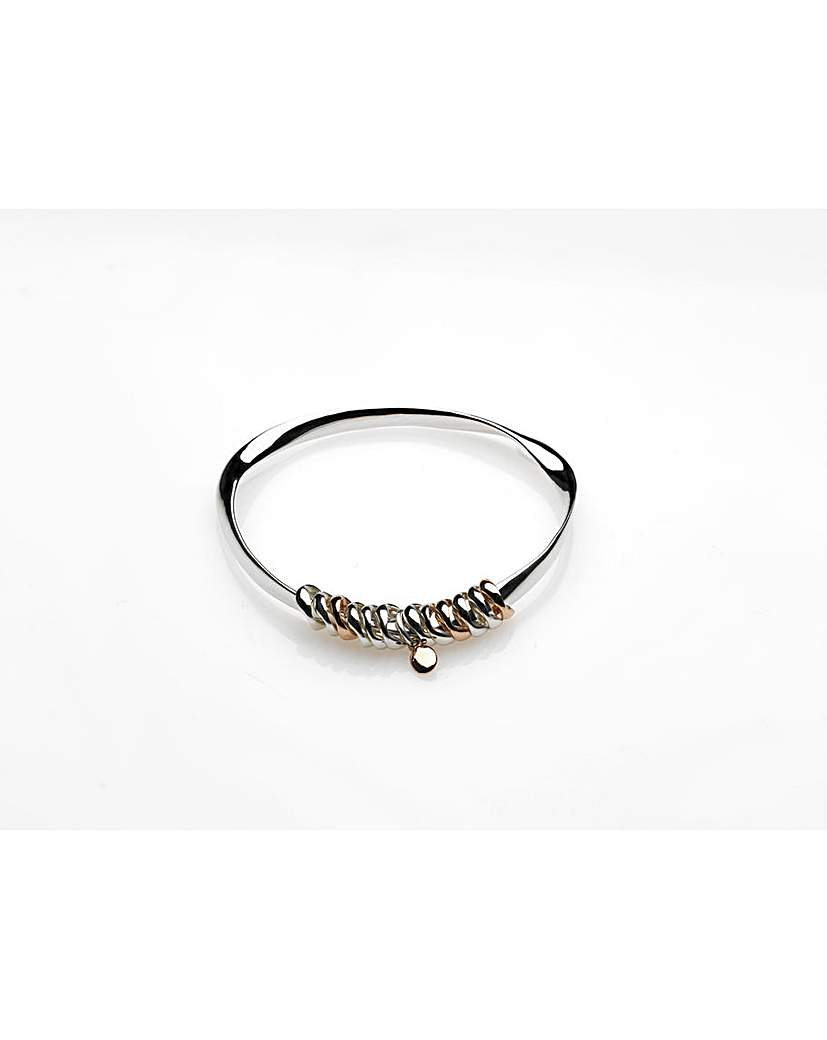 Eternal Silver Bangle