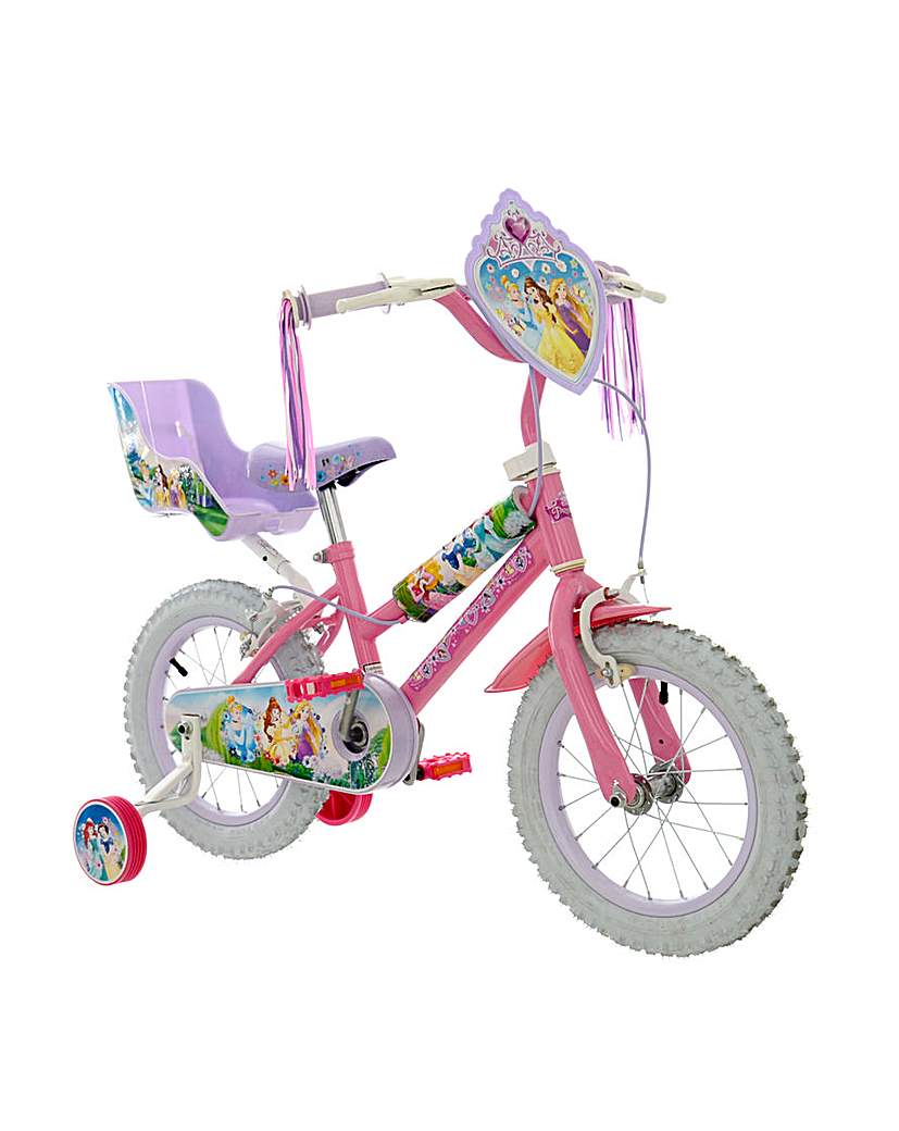 Disney Princess 14in Bike with Carrier