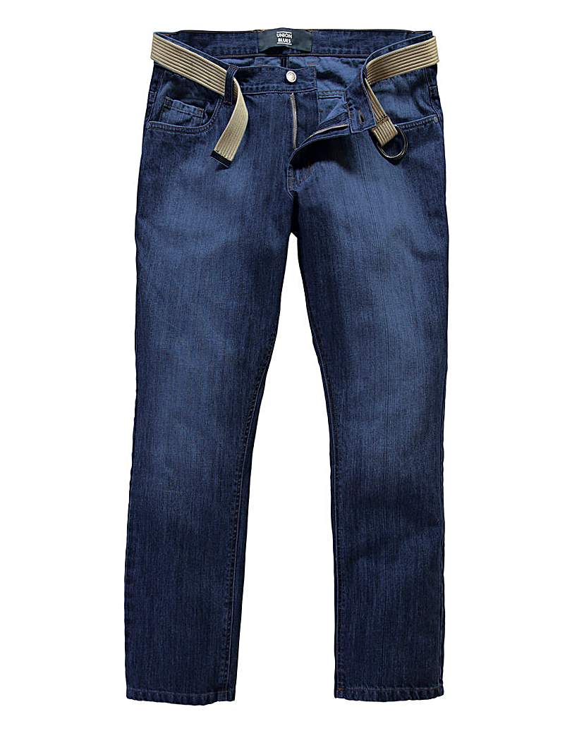 UNION BLUES Delta Tapered Jeans 29 Inch
