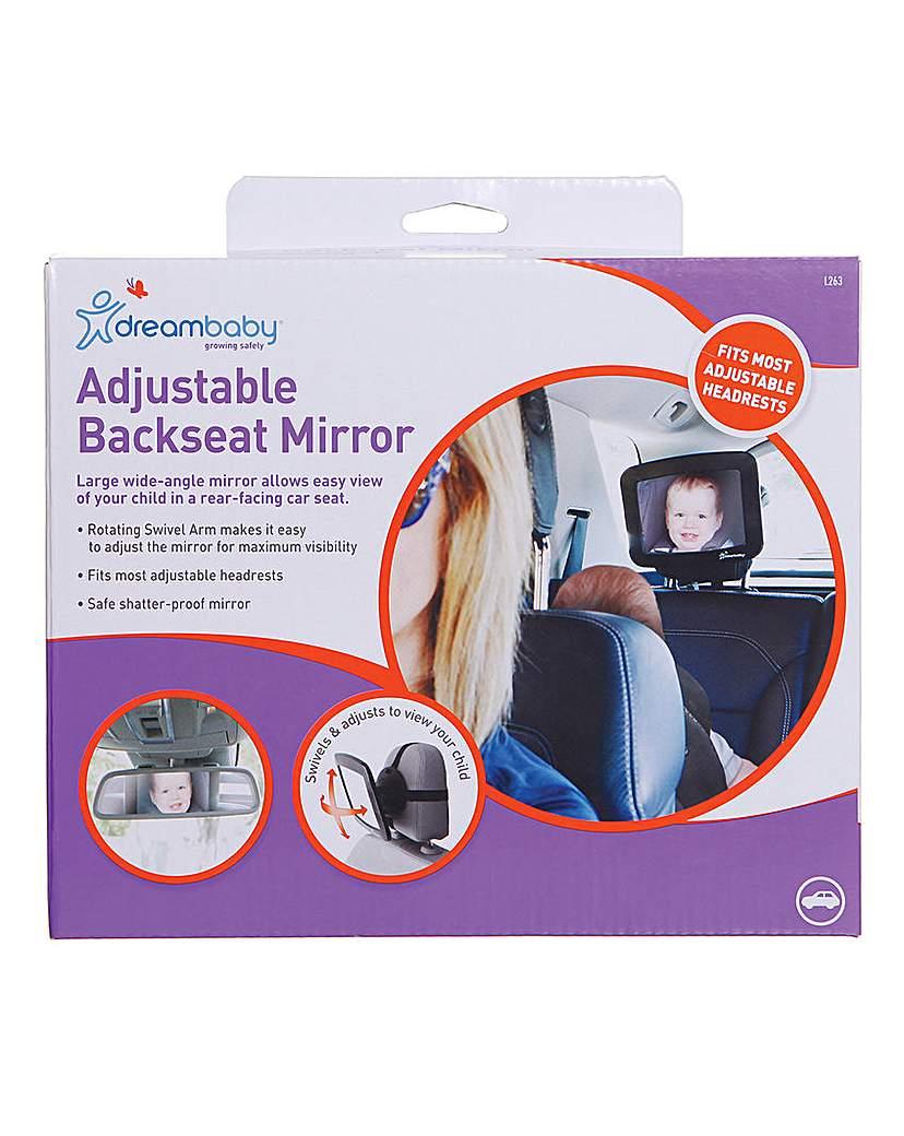 Image of Dreambaby Adjustable Back Seat Mirror