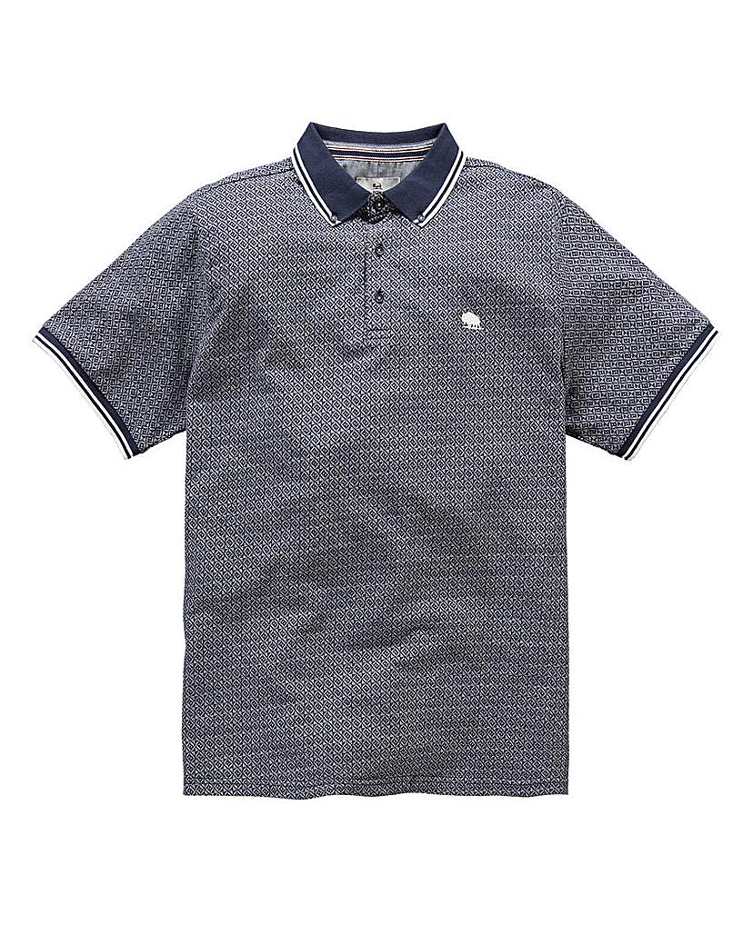 Image of Bellfield Tex Jacquard Polo
