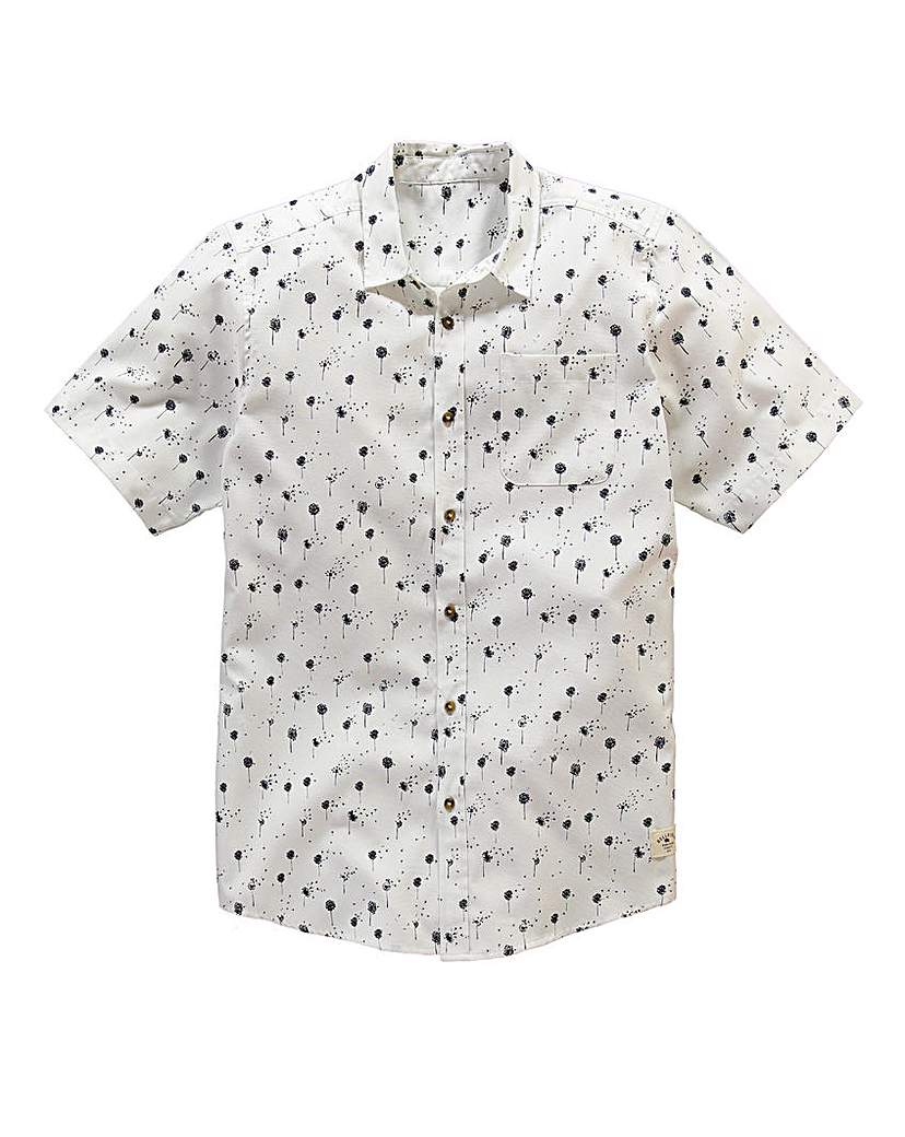 Image of Bellfield S/S Dandelion Print Shirt