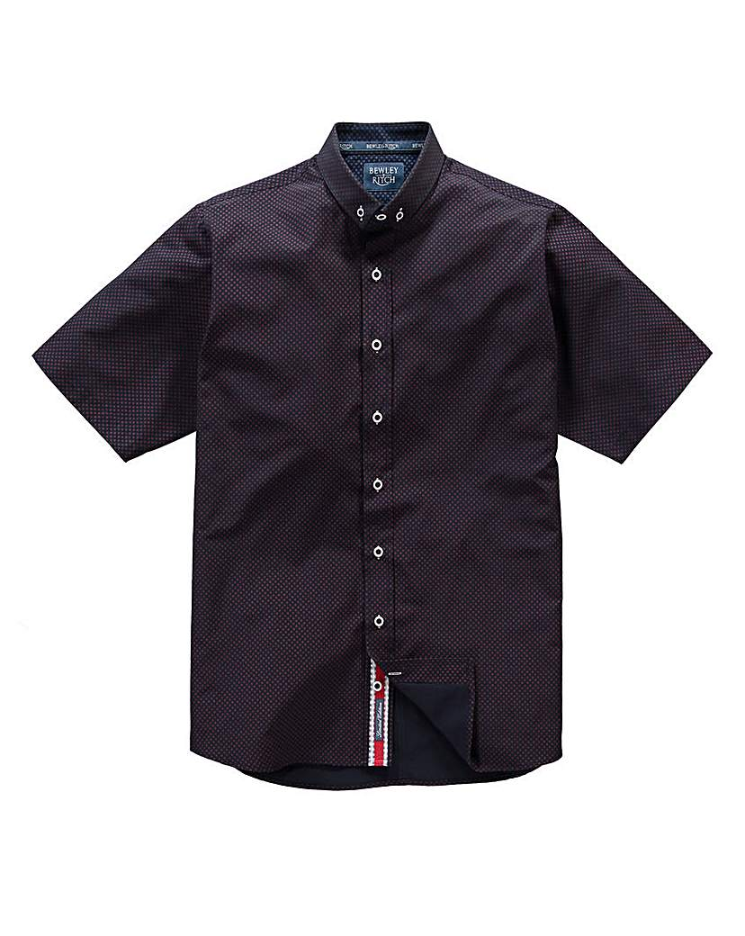 Image of Bewley & Ritch Brant Navy Shirt