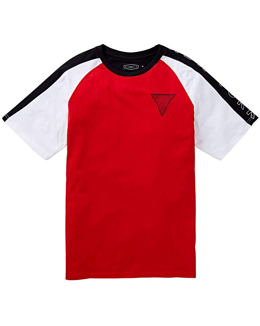 Label J Panel Print Tee Regular