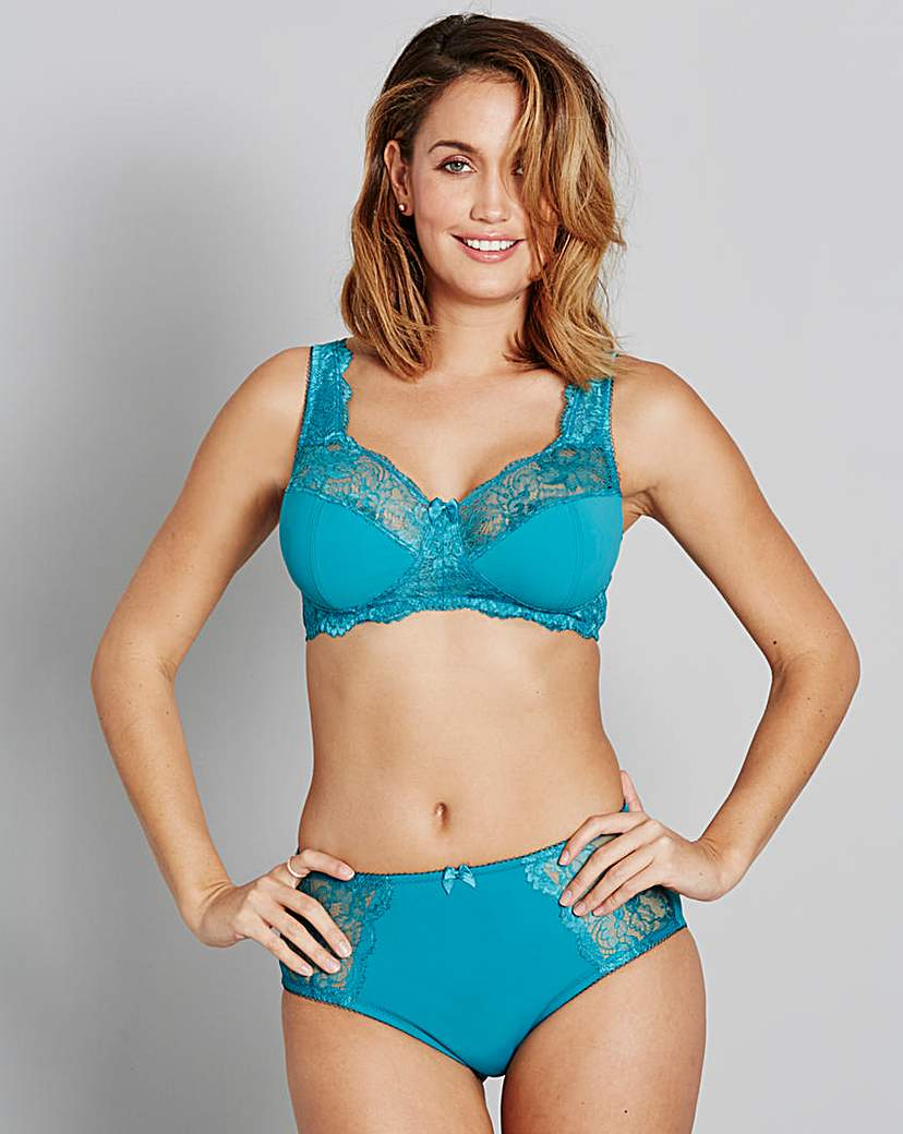Image of 2Pack Ella Non Wired Teal/Pink Bras