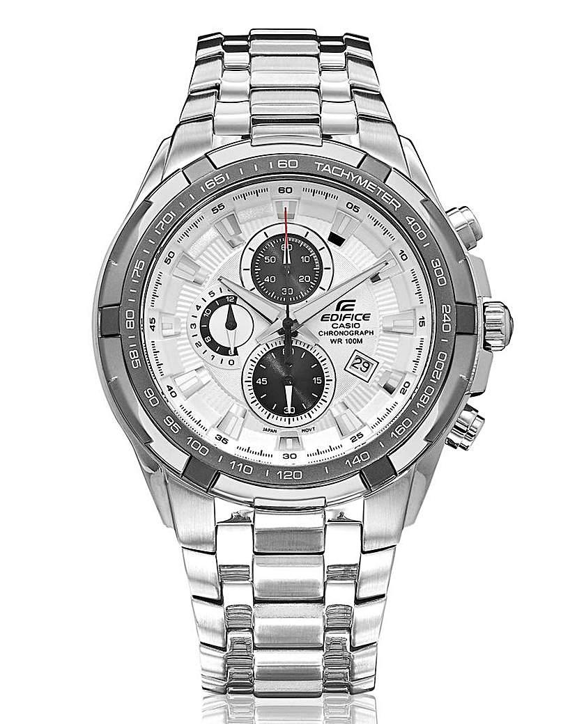 Image of Casio Edifice Gents Bracelet Date Watch
