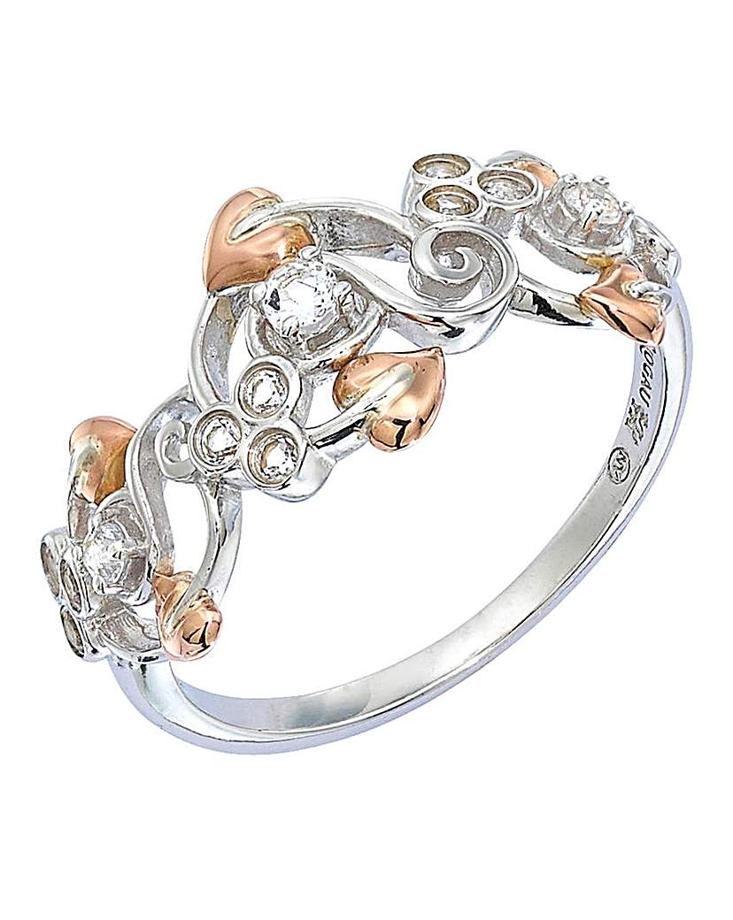 Image of Clogau Silver and 9 Carat Gold Ring