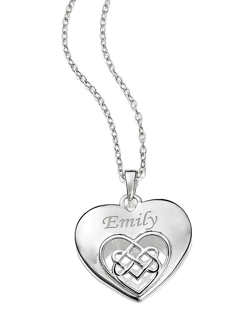Image of Celtic Style Heart Pendant