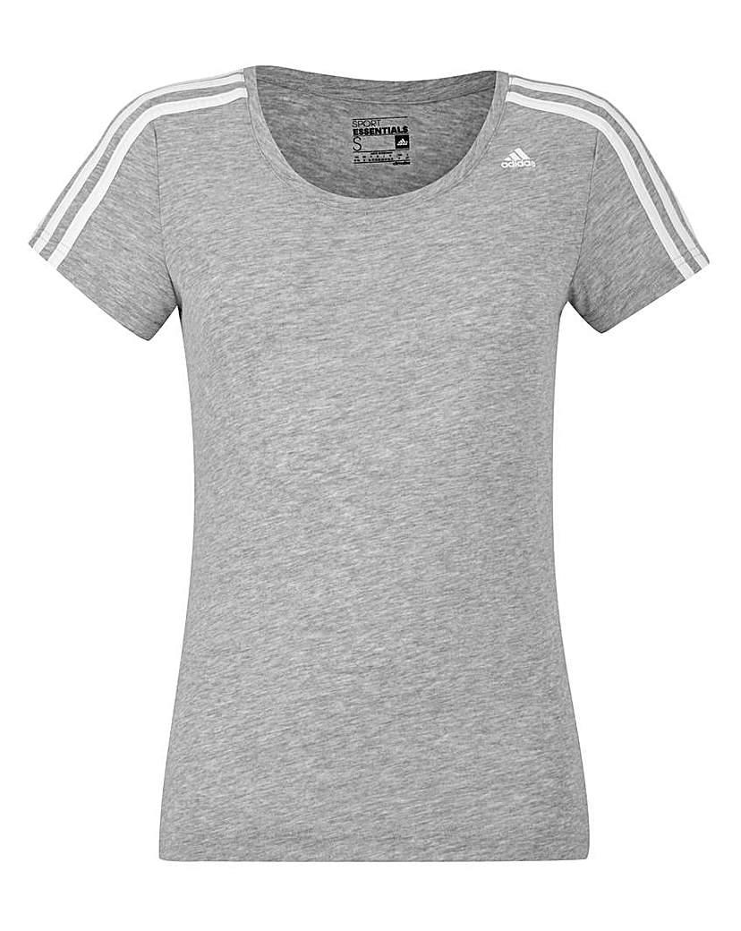 Image of Adidas 3 Stripes T-Shirt