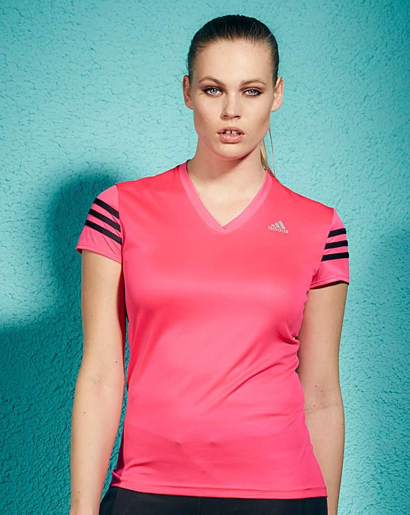 Image of Adidas 3 Stripes Fitness T-Shirt