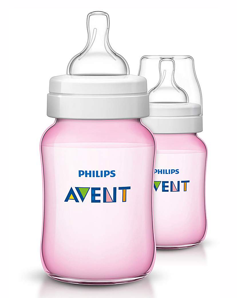 Image of Philips Avent Classic Anti-Colic Pink