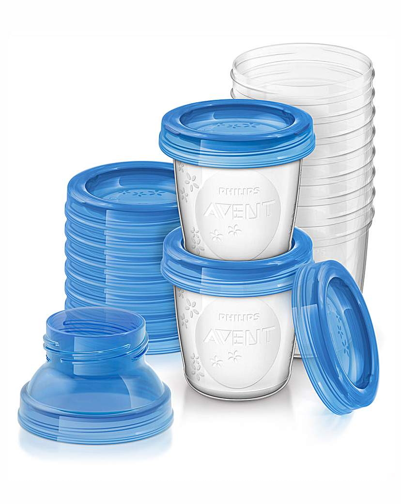 Image of Philips Avent Breast Milk Containers