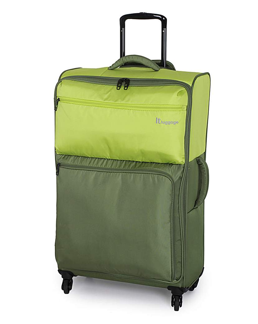 IT Luggage 71cm Large Suitcase  Lime