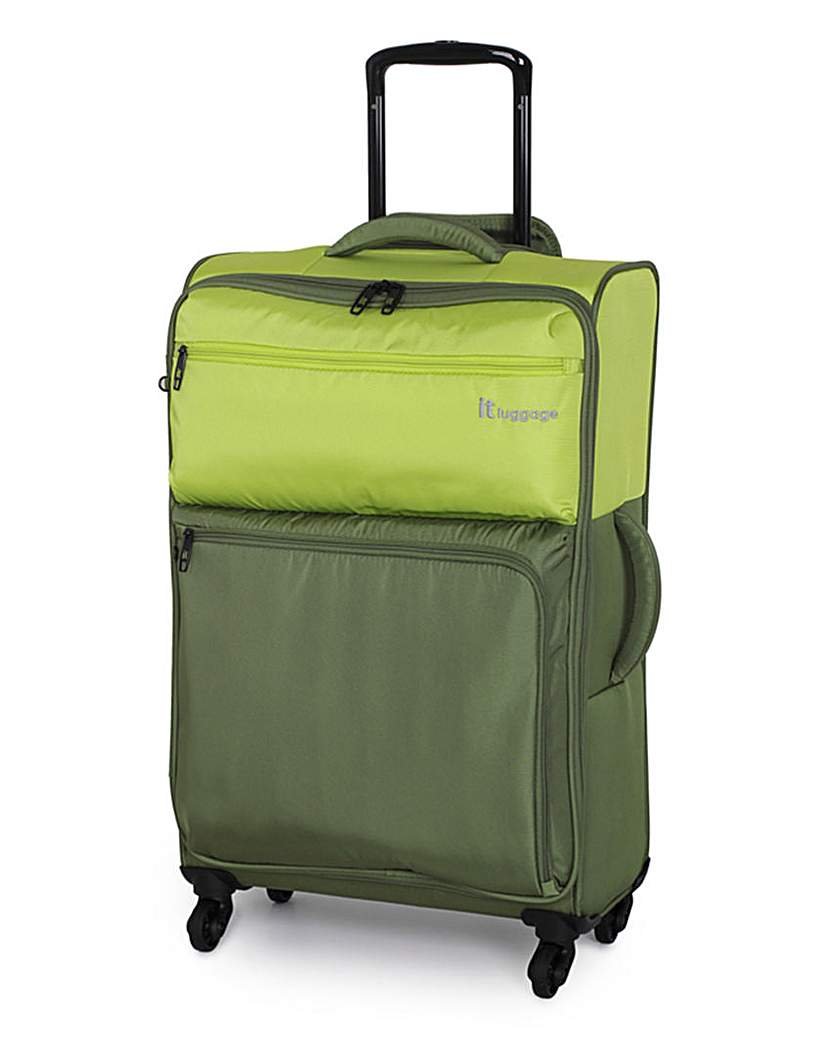 IT Luggage 61cm Medium Suitcase  Lime