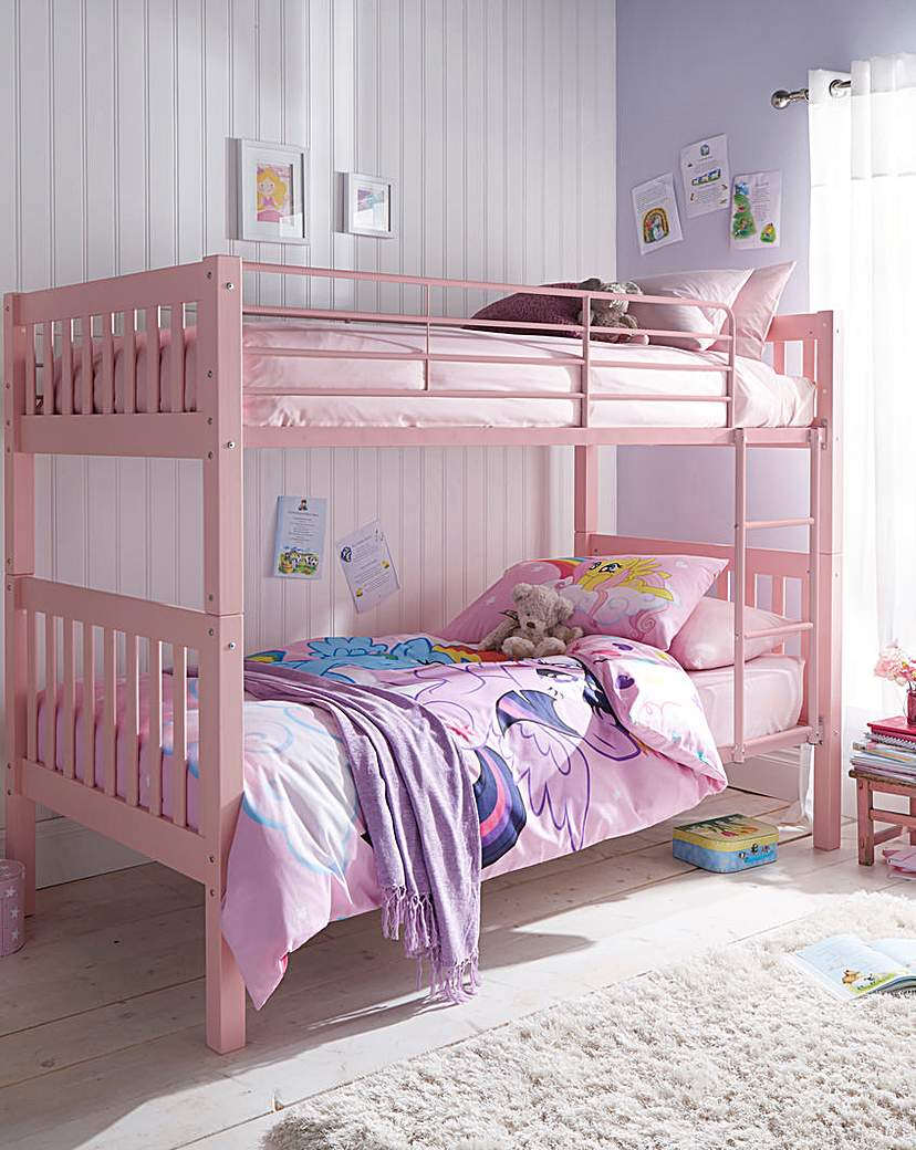 Image of Ashleigh Bunk Bed With Mattress