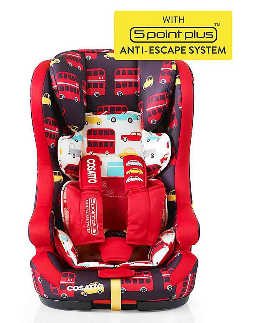 Image of Cosatto Hubbub Group 123 Isofix Car Seat