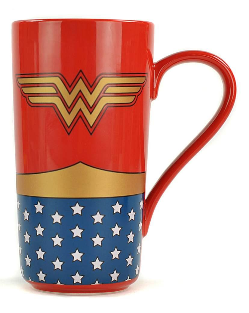 Image of Wonder Woman Latte Mug