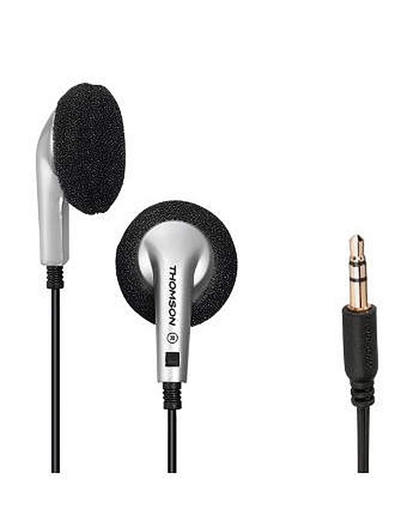 Thomson EAR1115S Earphones Black/Silver