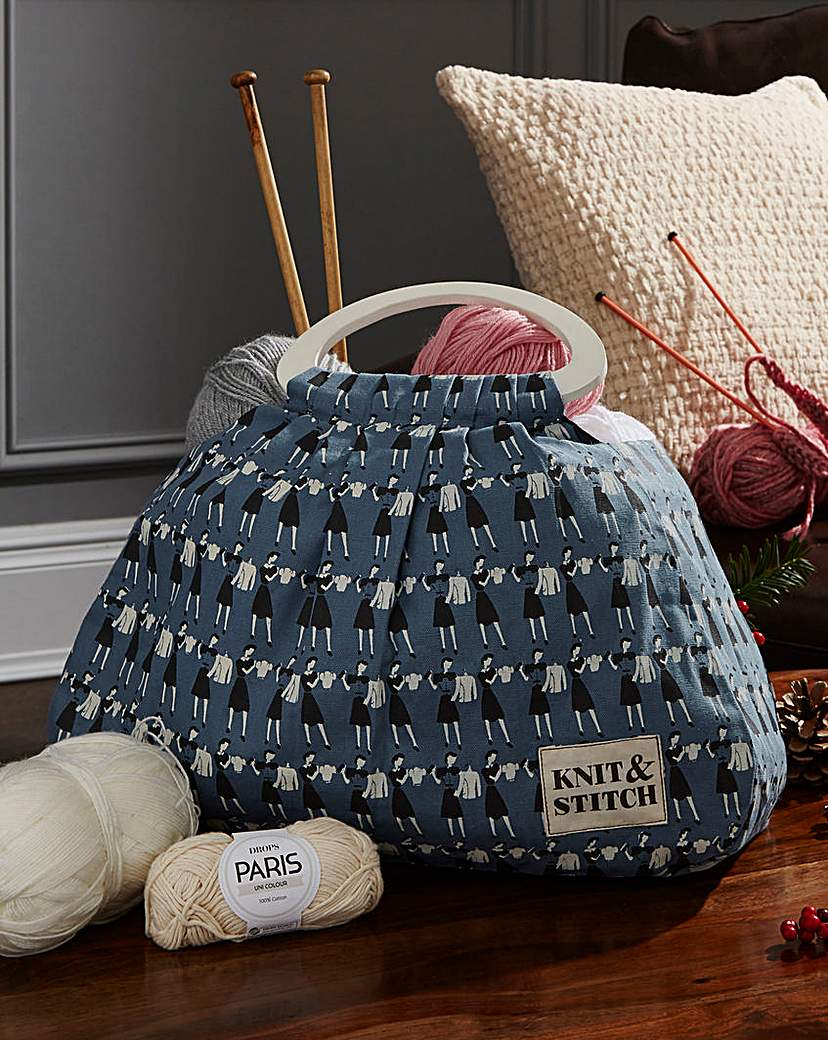Image of Knit & Stitch Knitting Bag