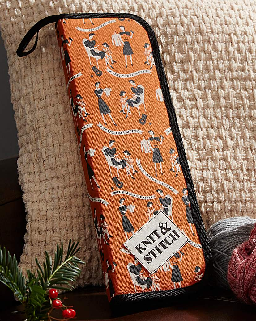 Image of Knit & Stitch Needle Case