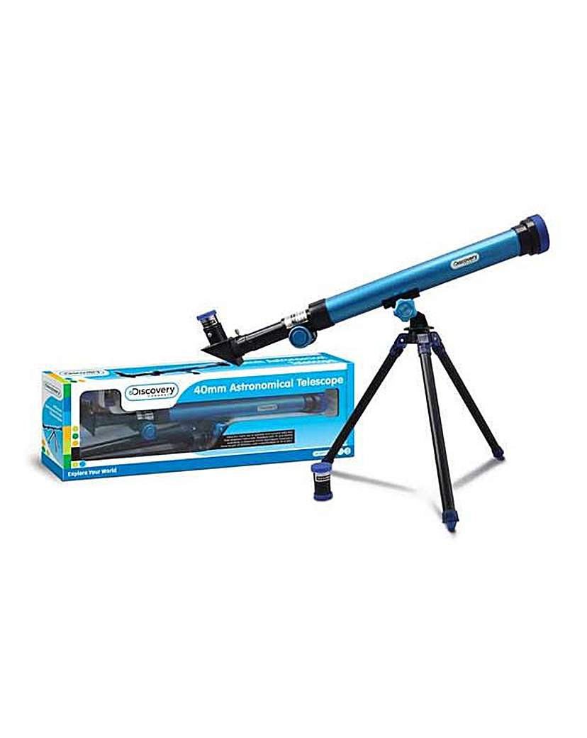 Discovery Channel 40mm Telescope.