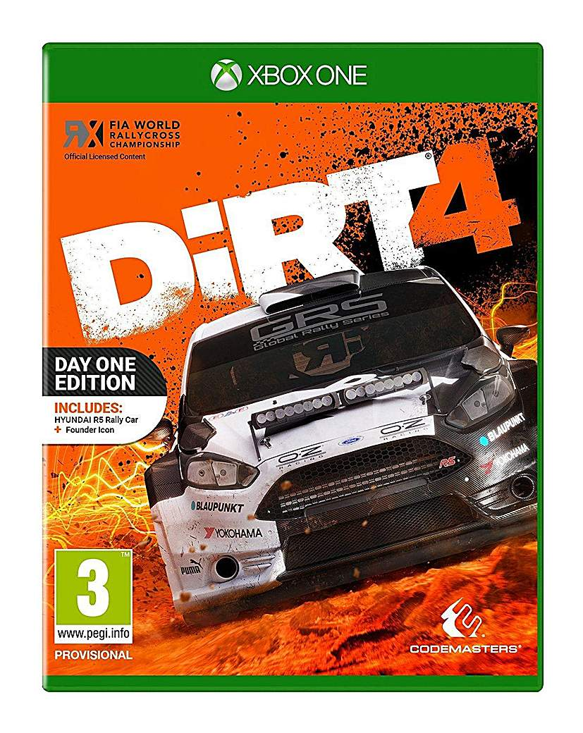 Dirt 4 - Day 1 Edition Xbox One