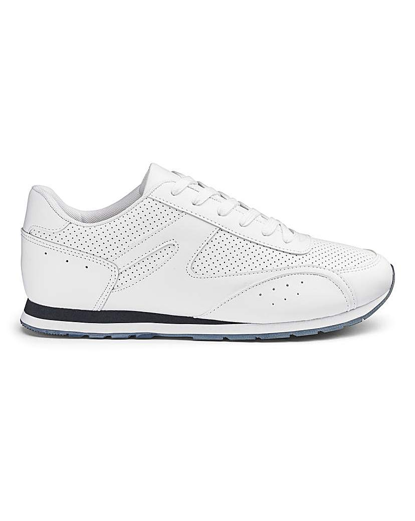 Cushion Walk Lace Trainers S Fit.