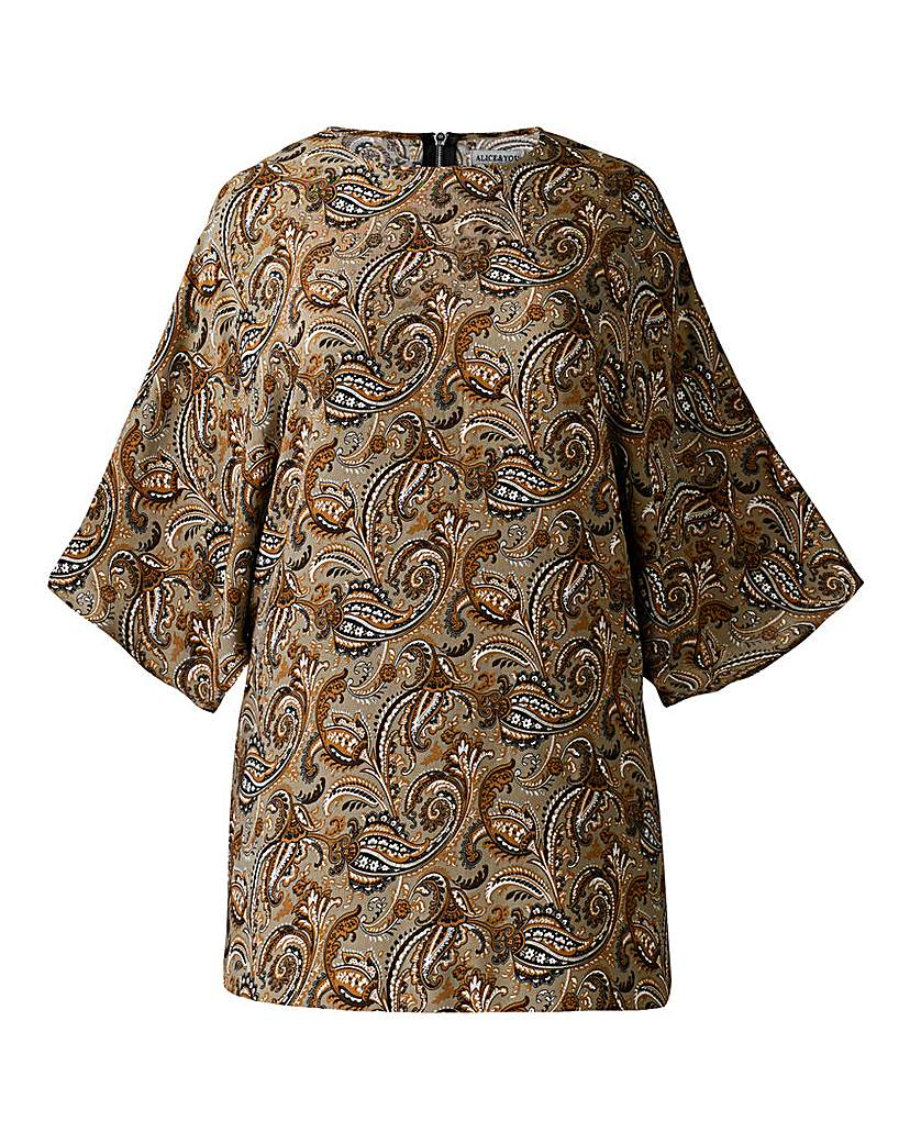 Image of Alice And You Print Floaty Tunic