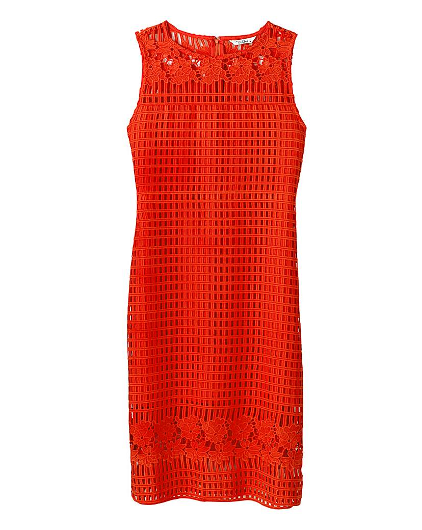 Darling Grid Lace Dress