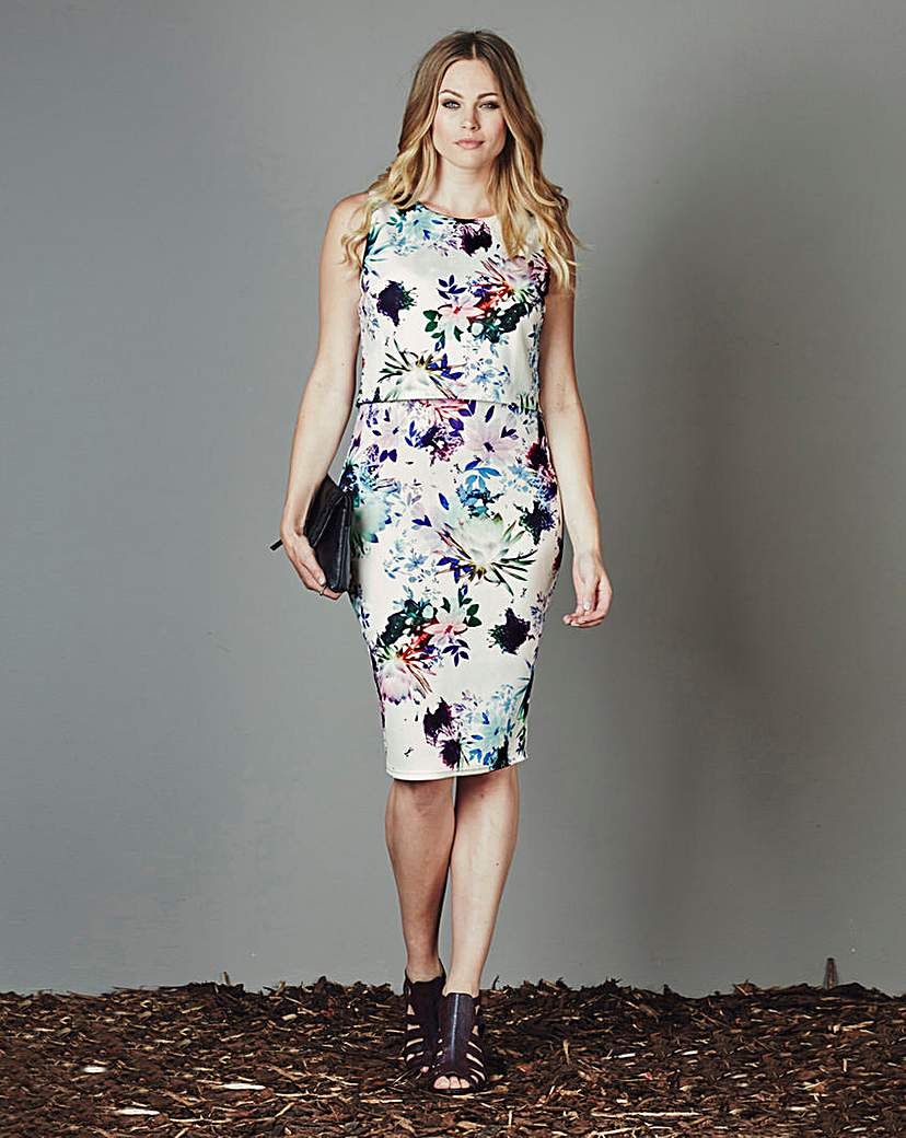AX Paris Double Layer Midi Dress