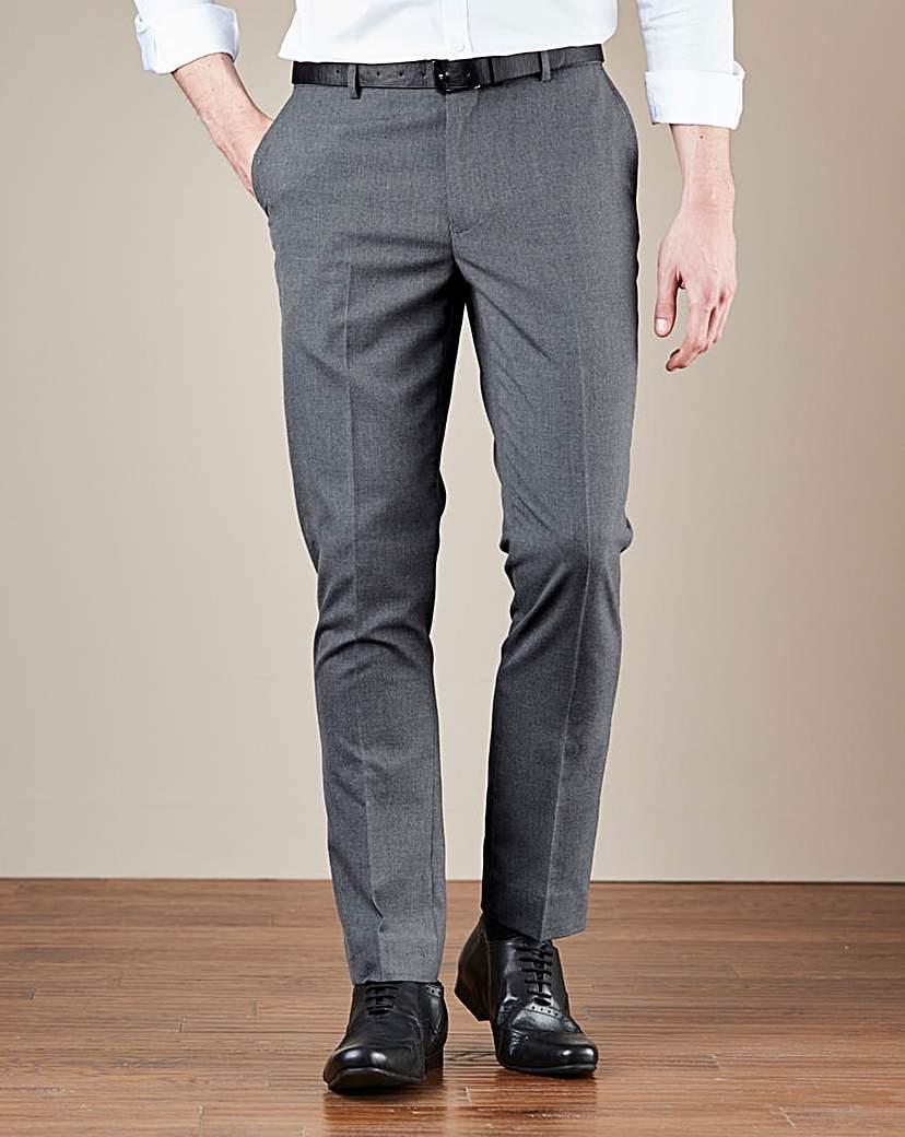 W&B London Plain Front Reg Fit Trousers
